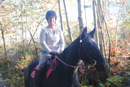 Kali on trail